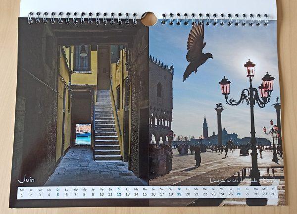 Mois de juin du calendrier Venise 2022